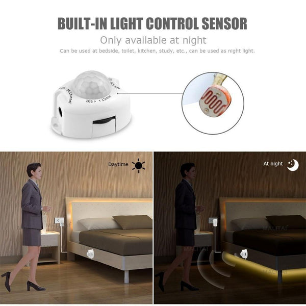 LED Strip Night Lamp with Motion Sensor