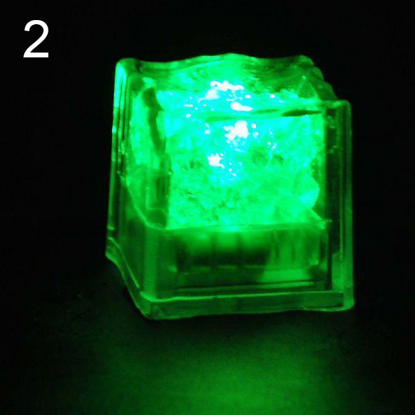 1 Pc LED Ice Cube Luminous Night Lamp for Decoration