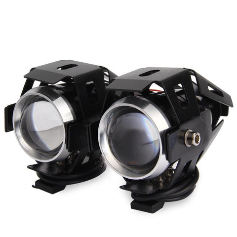 2PCS U5 Waterproof Motorcycle Headlights/ Spot Light (12V LED)