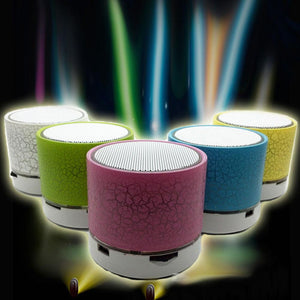 LED Mini Portable Wireless Bluetooth Speaker