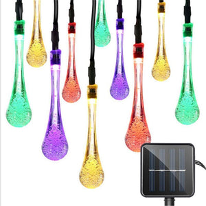 Waterproof 30LED Water Droplets Solar String Light