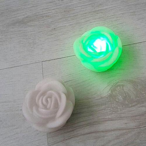 7 Colors Rose Flower LED Night Lamp as the picture at