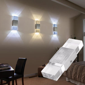 Modern Double Heads LED Wall Night Lamp for Decoration