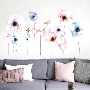 Removable Flowers Wall Sticker