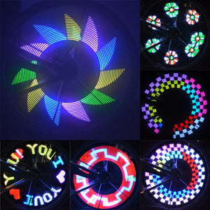 32LED DIY Colorful Bike Wheel Spoke Light