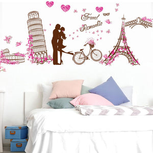 Romantic Wall Stickers For Home Decor