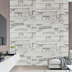 Brick Wall Sticker For Living Room For Decoration as the picture q