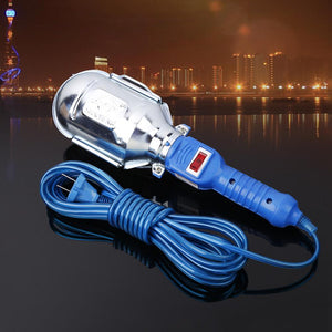 Hand-held LED Work Light Garage Car Inspection Repair Lamp with Switch Cable