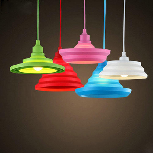 112 Silica Gel Pendant Lights For Hall/Living Room/Bedroom/Restaurant/Hotel Pendant Lights Yellow