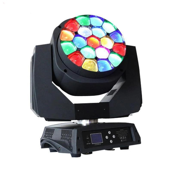 RGBW  Big Bees Eyes Moving Head (19x15w)-DJ Lights & Sound-unit price for 1 pcs / Germany-Khadiza Electricals