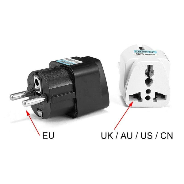 1pcs Universal EU Plug  Converter ( AU, UK, US To EU)