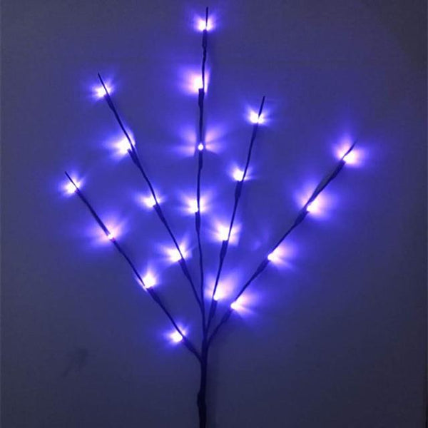 Willow Branch Lamp Floral LED Night Lights