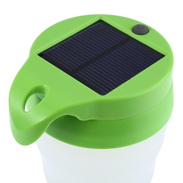 2 in 1 M5 Portable LED Solar Cup Light