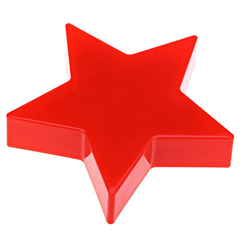 Plastic Star Shaped LED Light Decorative Candle Lamp