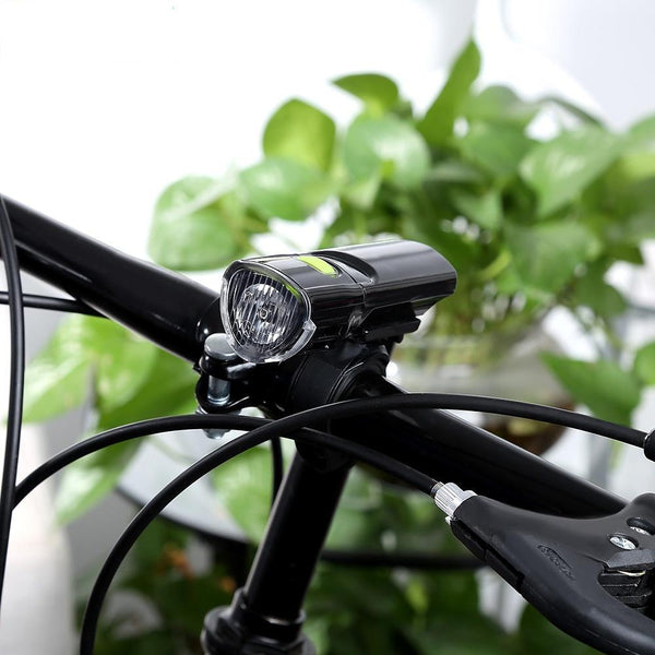 Water Resistant LED Flashlight for cycles-Flashlight/ Torch-BLACK-Khadiza Electricals