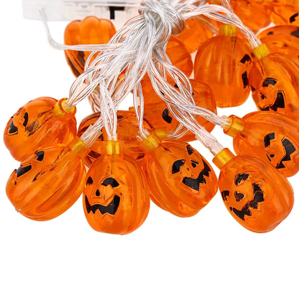 Pumpkin Light String Chains for Decoration-Decorative String Light-[variant_title]-Khadiza Electricals