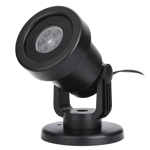 Water Resistant LED Projector Lamp (AC 110 - 240V 4W LED Star Moon Light)