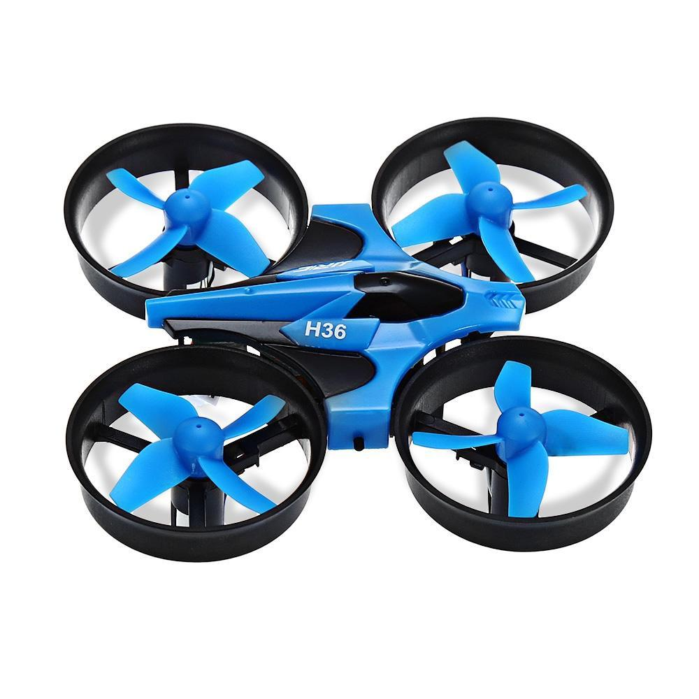 Mini 2.4GHz 4CH 6 Axis Gyro RC Quadcopter with Headless Mode / Speed Switch-Toy-BLUE / STANDARD VERSION-Khadiza Electricals