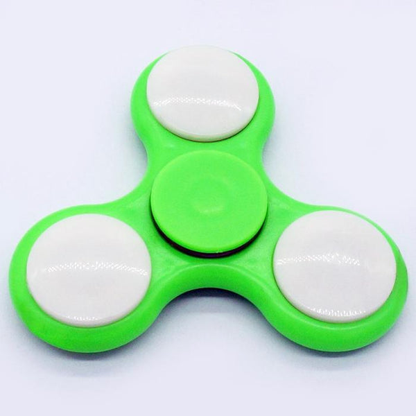 Anti-Stress Color Changing LED Fidget Finger Spinner