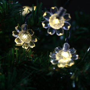 Flower Blossom Solar String Light for Decoration(50 LEDs)-Decorative Solar String Light-[variant_title]-Khadiza Electricals