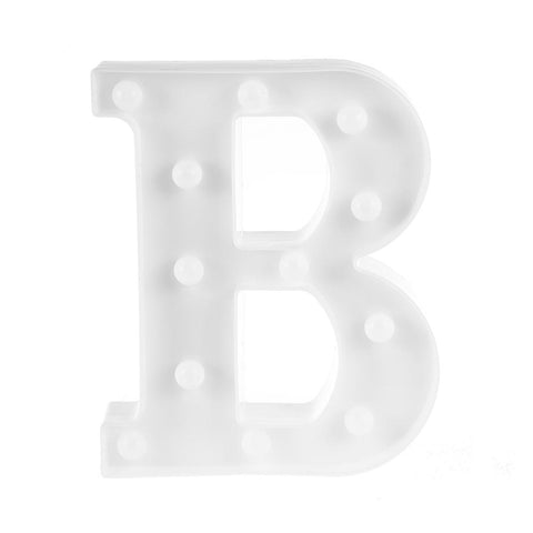 Creative 3D Letter Symbol LED Night Light