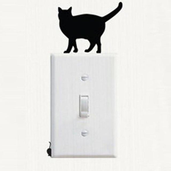 Cute Cat Wall Stickers for Decoration-Non Electric Home Decor-[variant_title]-Khadiza Electricals