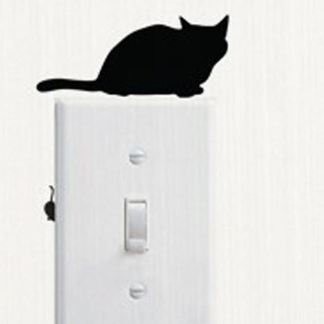 Cute Cat Wall Stickers for Decoration-Non Electric Home Decor-A-Khadiza Electricals