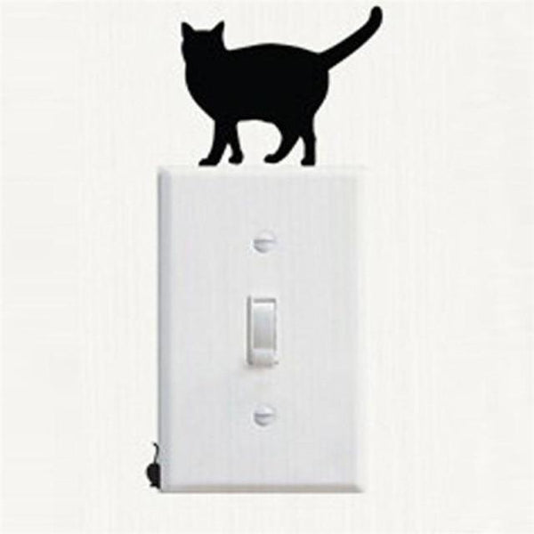 Cute Cat Wall Stickers for Decoration-Non Electric Home Decor-H-Khadiza Electricals