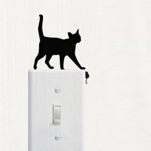 Cute Cat Wall Stickers for Decoration-Non Electric Home Decor-D-Khadiza Electricals