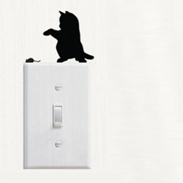 Cute Cat Wall Stickers for Decoration-Non Electric Home Decor-B-Khadiza Electricals