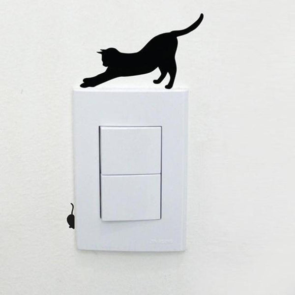 Cute Cat Wall Stickers for Decoration-Non Electric Home Decor-E-Khadiza Electricals