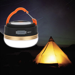 BRELONG  Camping Emergency Light with USB Charge cum Power Bank