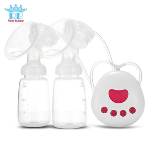 BPA Free Automatic double Breast Pump for Mothers