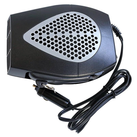 Portable Car Heater Cum Defroster with Handle DARK GRAY / 12V