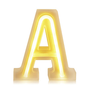 Small Letter Number LED Light