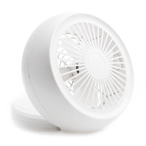 USB Battery Powered Mini Snail Fan with Low Noise Adjustable Angle