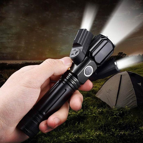 BRELONG E39 - T6 Wide Angle Long Range Flashlight for Daily Use