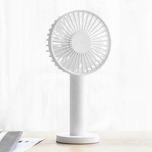Rechargeable Low Noise Handheld Mini Fan-Decorative Fan-WHITE-Khadiza Electricals