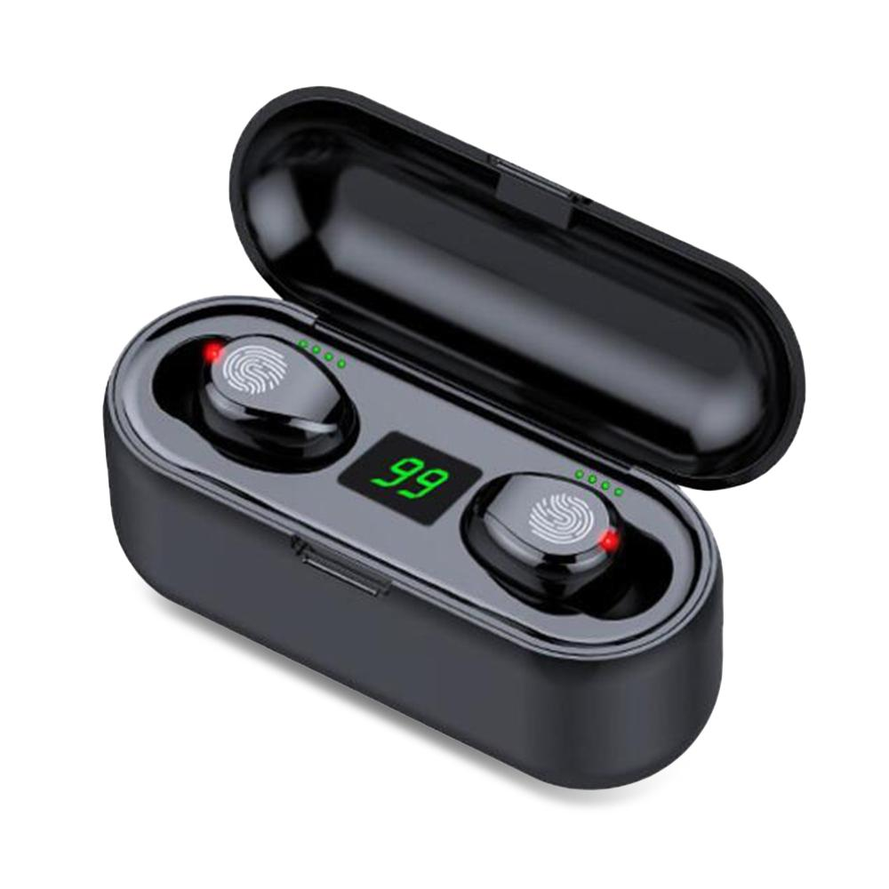 F9 TWS Bluetooth 5.0 Wireless Earbuds With Hi-Fi Sound Effect