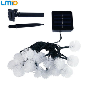 Solar Powered LED String Fairy Lights For Garland/ Christmas/ Wedding/ Garden/ Party Decoration