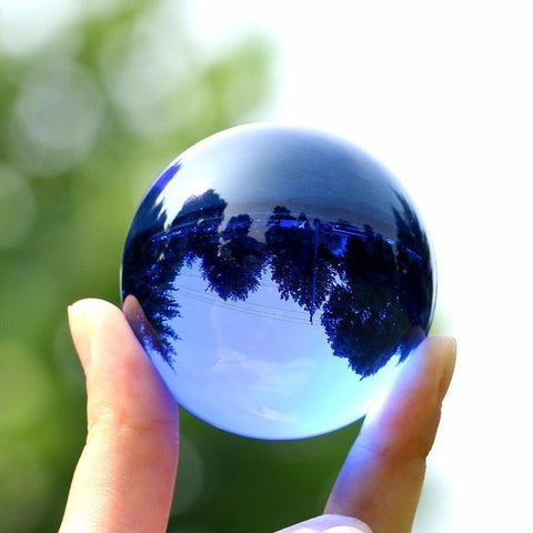 Multicolor Crystal Ball for Photography & Decor (30/40MM)