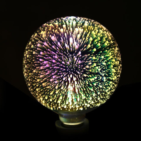 Fireworks 3D LED Night Lamp