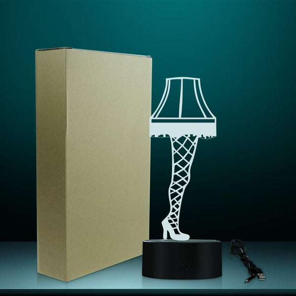 3D Optical illusion Leg Lamp-Decorative Night Lamp-[variant_title]-Khadiza Electricals