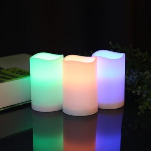 Remote Controlled Flame-less Smart Candle Light-Decorative Night Lamp-[variant_title]-Khadiza Electricals