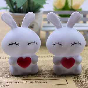 Lovely Rabbit LED Night Lamp for Decoration (7 Colors Changing)