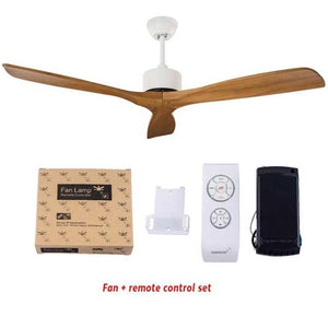 Wooden Luxury Ceiling Fan with Remote Control (52 inch)