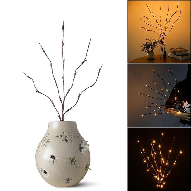 LED Willow Twig Branches Light-Decorative Night Lamp-Default title 0-Khadiza Electricals