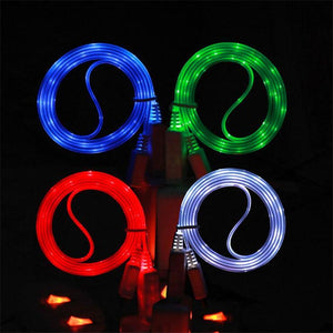 Colorful Luminous USB Data Cable