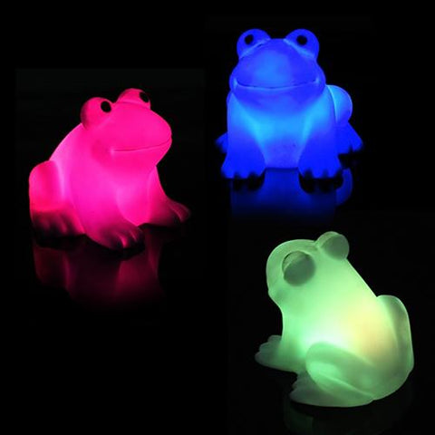Color Changing LED Cute Frog Night Lamp