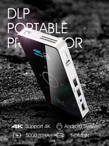Mini 4K DLP Pocket Projector